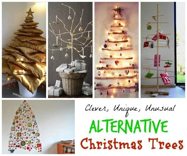 Christmas Decor without A Tree Beautiful Unique and Clever Alternative Christmas Trees Christmas Celebration All About Christmas