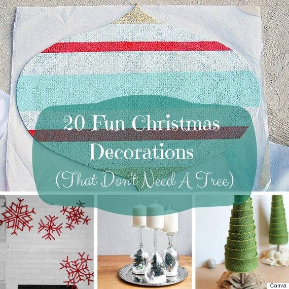 Christmas Decor without A Tree Luxury 20 Christmas Decorating Ideas You Can Create without A Tree