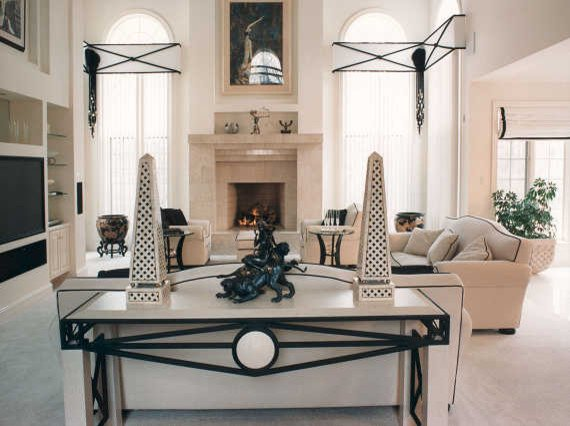 Classic Contemporary Living Room Elegant Classic Contemporary Contemporary Living Room Chicago by Interiors by Mary Susan