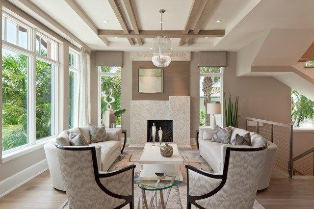 Classic Contemporary Living Room Elegant Classic Contemporary Style