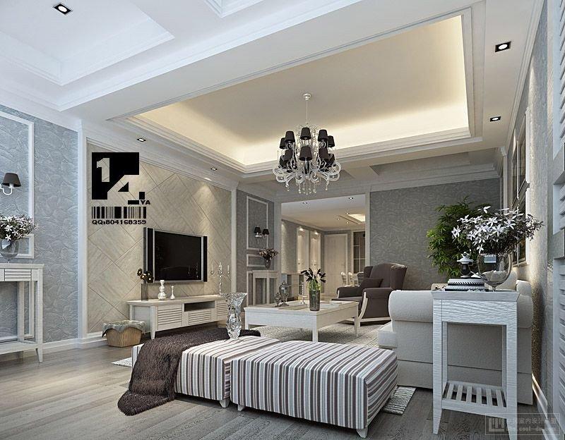 Classic Contemporary Living Room Elegant Modern Chinese Interior Design
