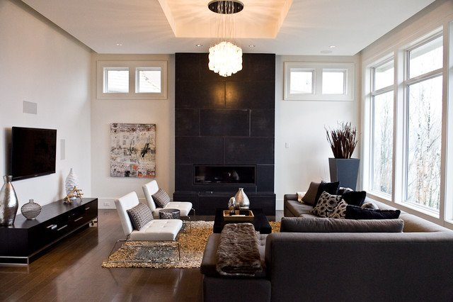 Classic Contemporary Living Room Elegant Modern Classic Modern Living Room Vancouver by Done to the Nines