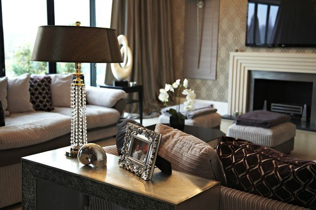 Classic Contemporary Living Room Inspirational Residential Contemporary Living Room Other Metro by Modern and Classic Interiors