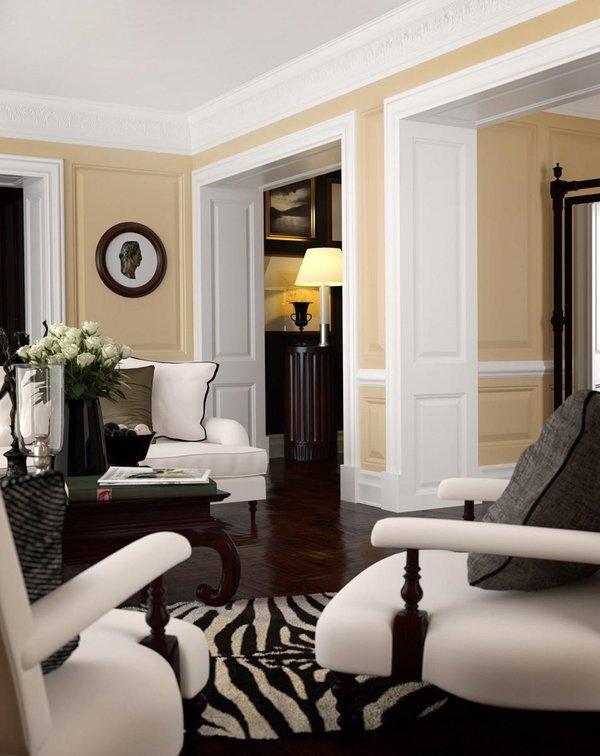 Classic Contemporary Living Room Lovely Classic Interior Design