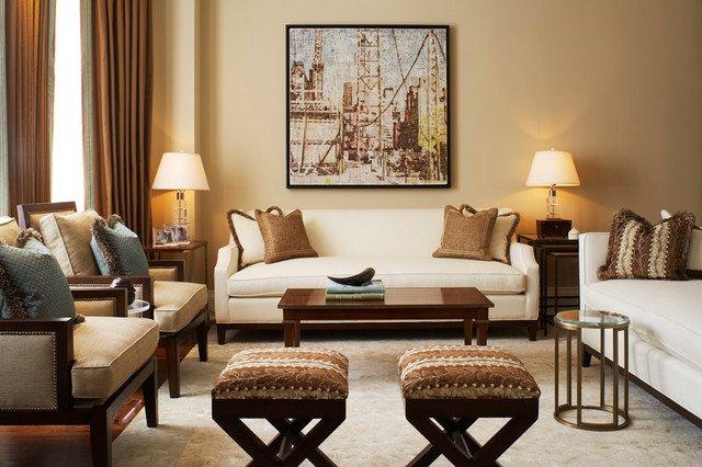 Classic Contemporary Living Room New Contemporary Classic Traditional Living Room by Kimberley Seldon Design Group