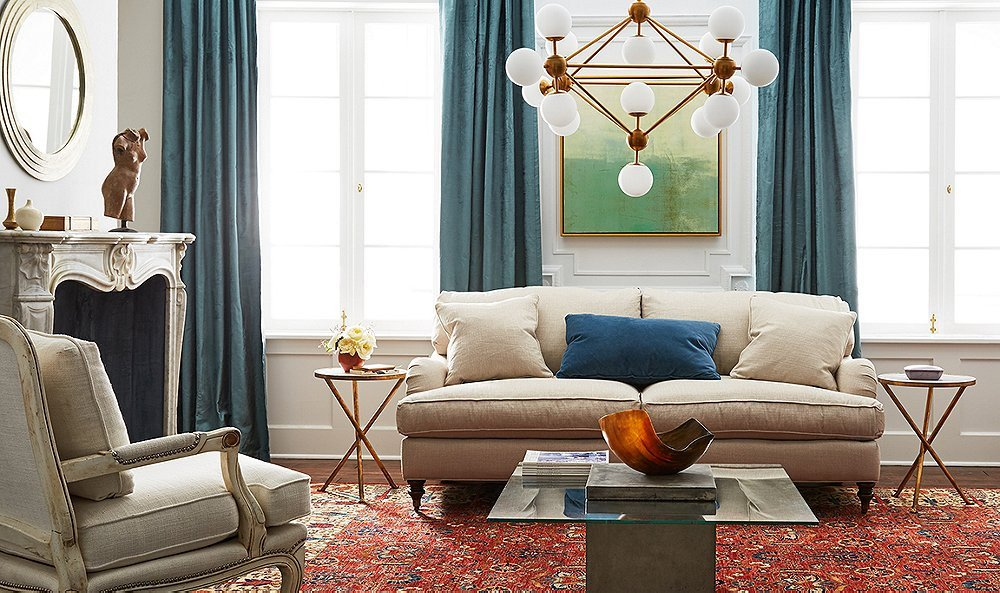Classic Contemporary Living Room New Mixing Modern and Traditional Furniture Styles In Every Room