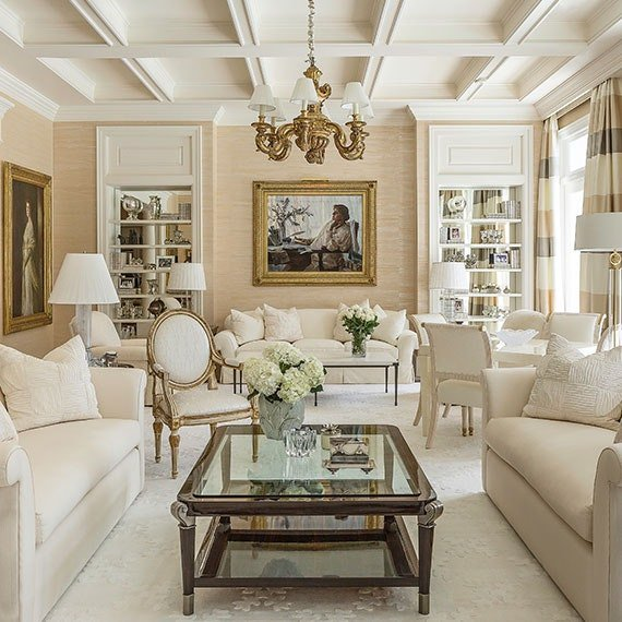 Classy Comfortable Living Room Best Of Get the Look An Elegant and Classy Living Room Get the Look Dering Hall