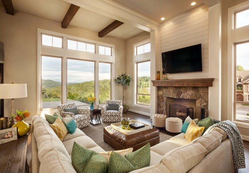 Classy Comfortable Living Room Inspirational 36 Elegant Living Rooms that are Richly Furnished & Decorated
