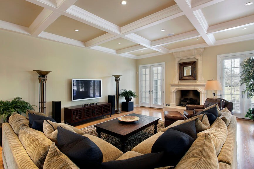 Classy Comfortable Living Room Lovely 36 Elegant Living Rooms that are Richly Furnished & Decorated