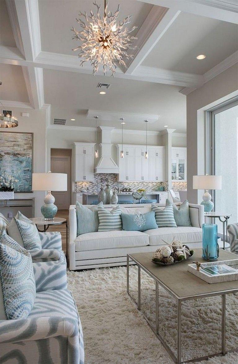 70 fortable Coastal Style Living Room Decor Ideas livingroomdecor coastalstyle