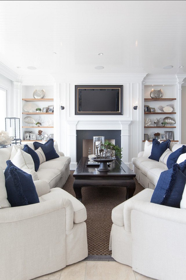 Coastal Comfortable Living Room Fresh Classic Beach House with Coastal Interiors Home Bunch Interior Design Ideas