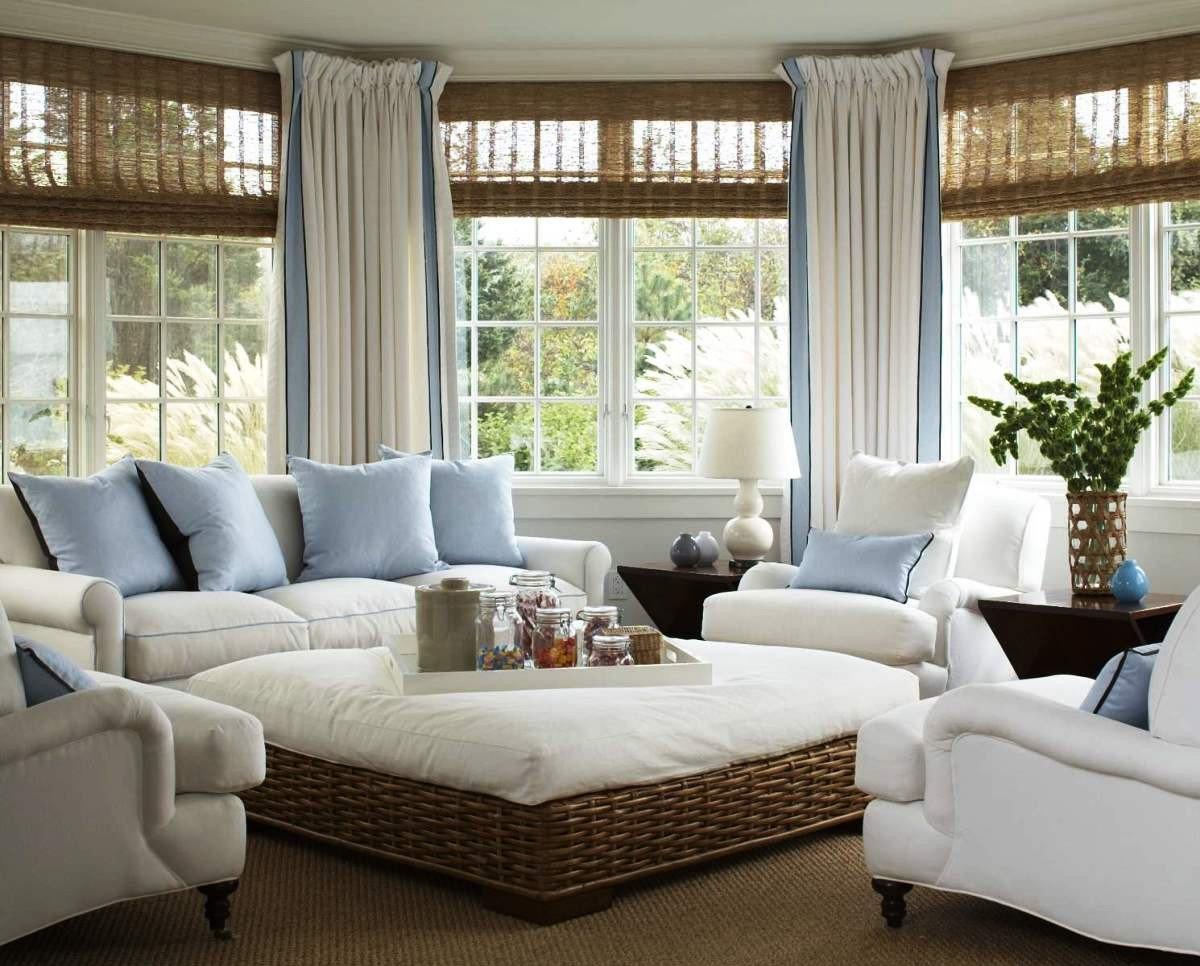 Coastal Comfortable Living Room Fresh Sunroom Designs to Brighten Your Home