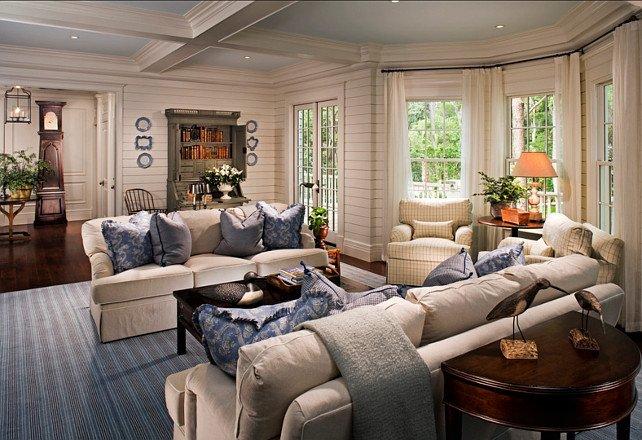 Coastal Comfortable Living Room Inspirational Family Home with Classic Coastal Interiors Home Bunch Interior Design Ideas