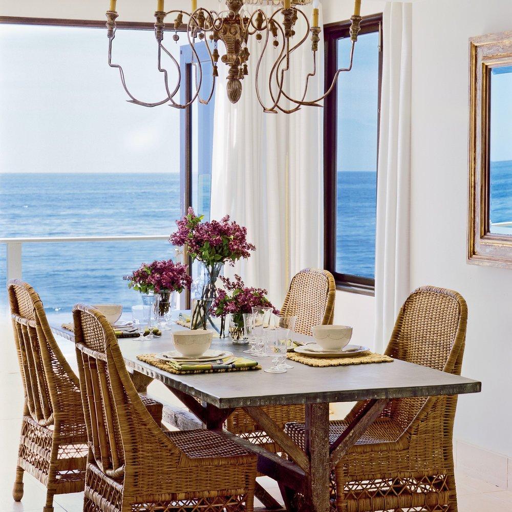 Coastal Comfortable Living Room Luxury fortable Dining Room 15 Traditional Seaside Rooms Coastal Living