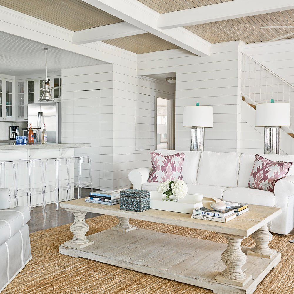 Coastal Comfortable Living Room New after Clean and fortable 20 Amazing Living Room Makeovers Coastal Living