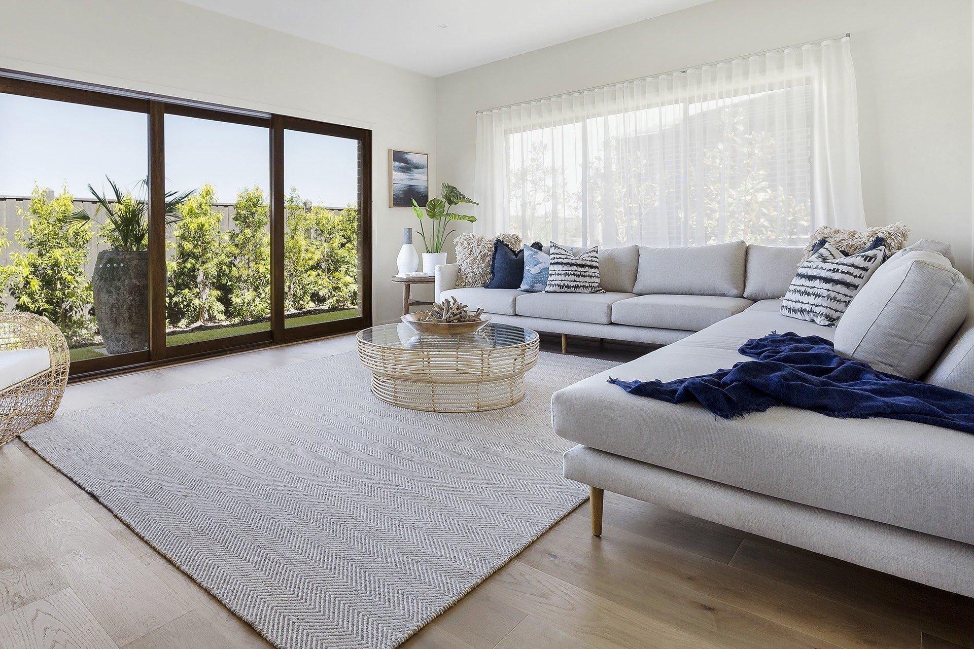 Coastal Contemporary Living Room Beautiful now This is How You Do Modern Coastal Interior Design