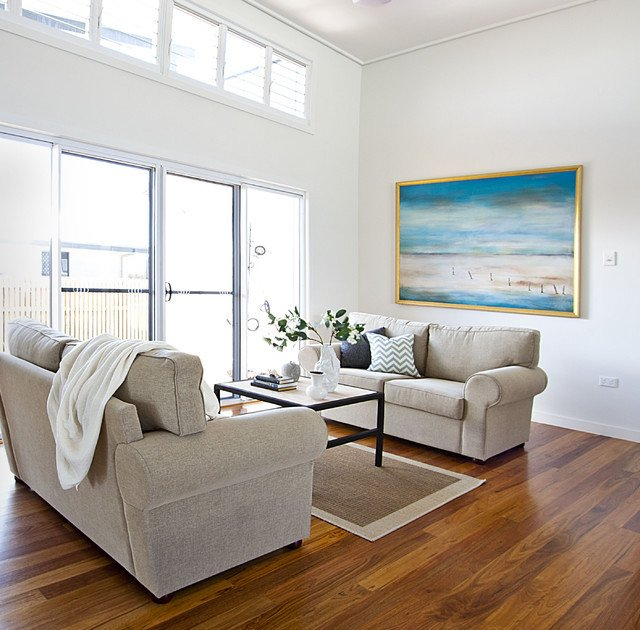 Coastal Contemporary Living Room Best Of Contemporary Coastal Home Beach Style Living Room Brisbane by Ethos Interiors