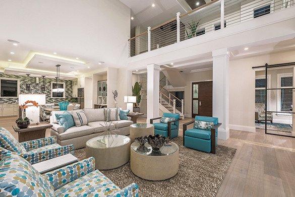 Coastal Contemporary Living Room Fresh Coastal Contemporary – Home & Design