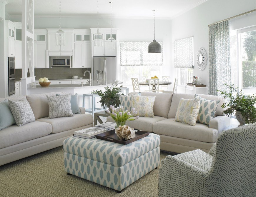 Coastal Contemporary Living Room Fresh Krista Watterworth Interior Design Creates Clean sophisticated Interior for Coastal