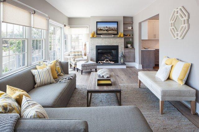 Coastal Contemporary Living Room Inspirational Coastal Home
