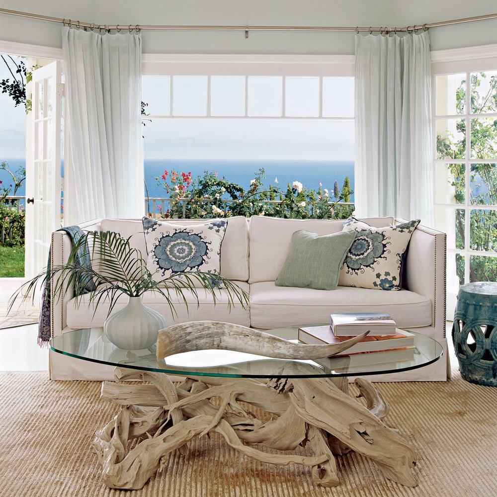 Coastal Contemporary Living Room Lovely Our Favorite Modern Interiors Coastal Living