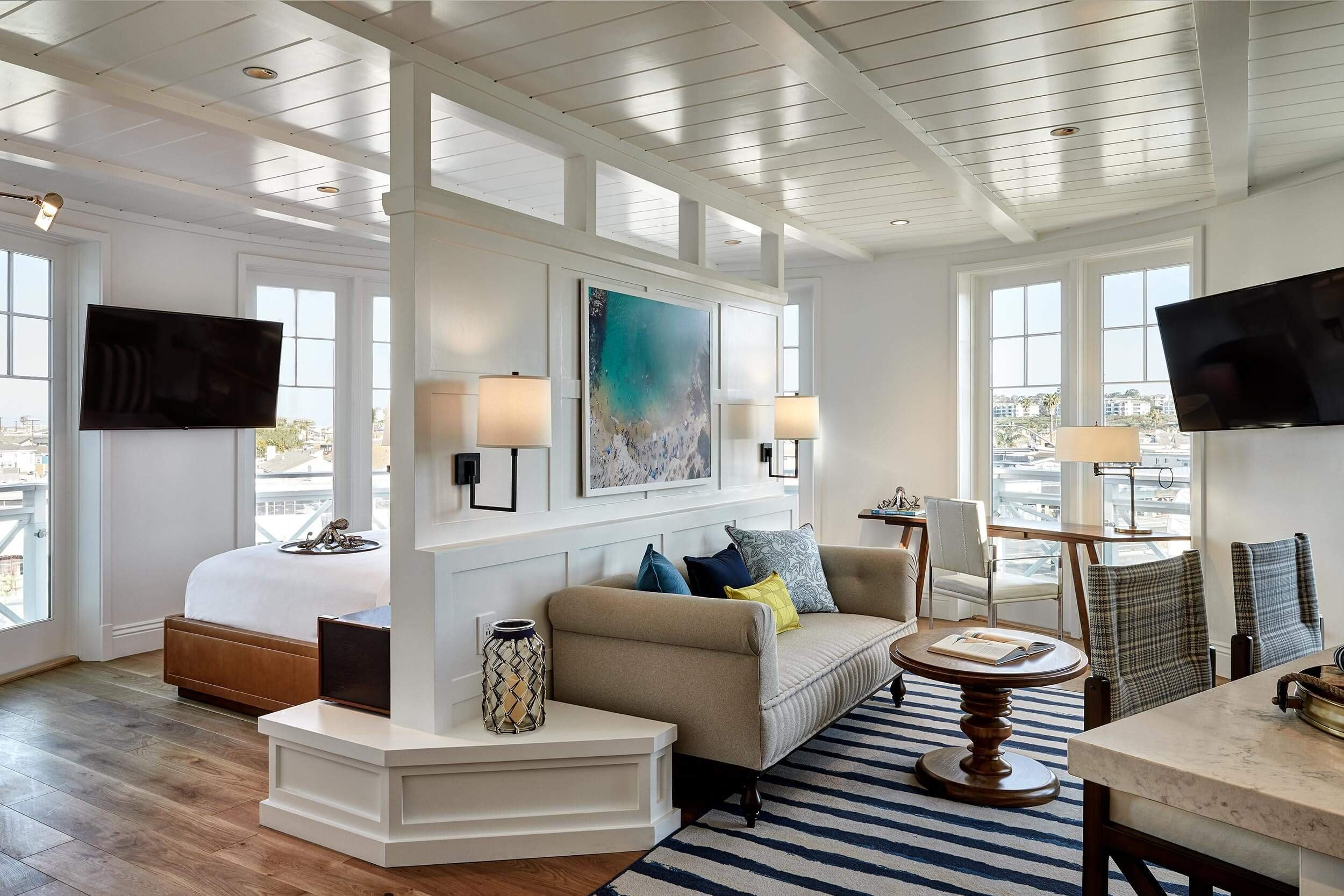 Coastal Contemporary Living Room Luxury Beautiful Modern Coastal Design Ideas for Living Rooms Pink Peppermint Design