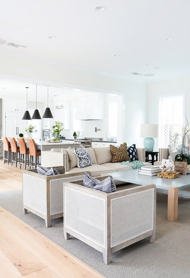 Coastal Contemporary Living Room Luxury House Envy Coastal Elegance In Newport Beach