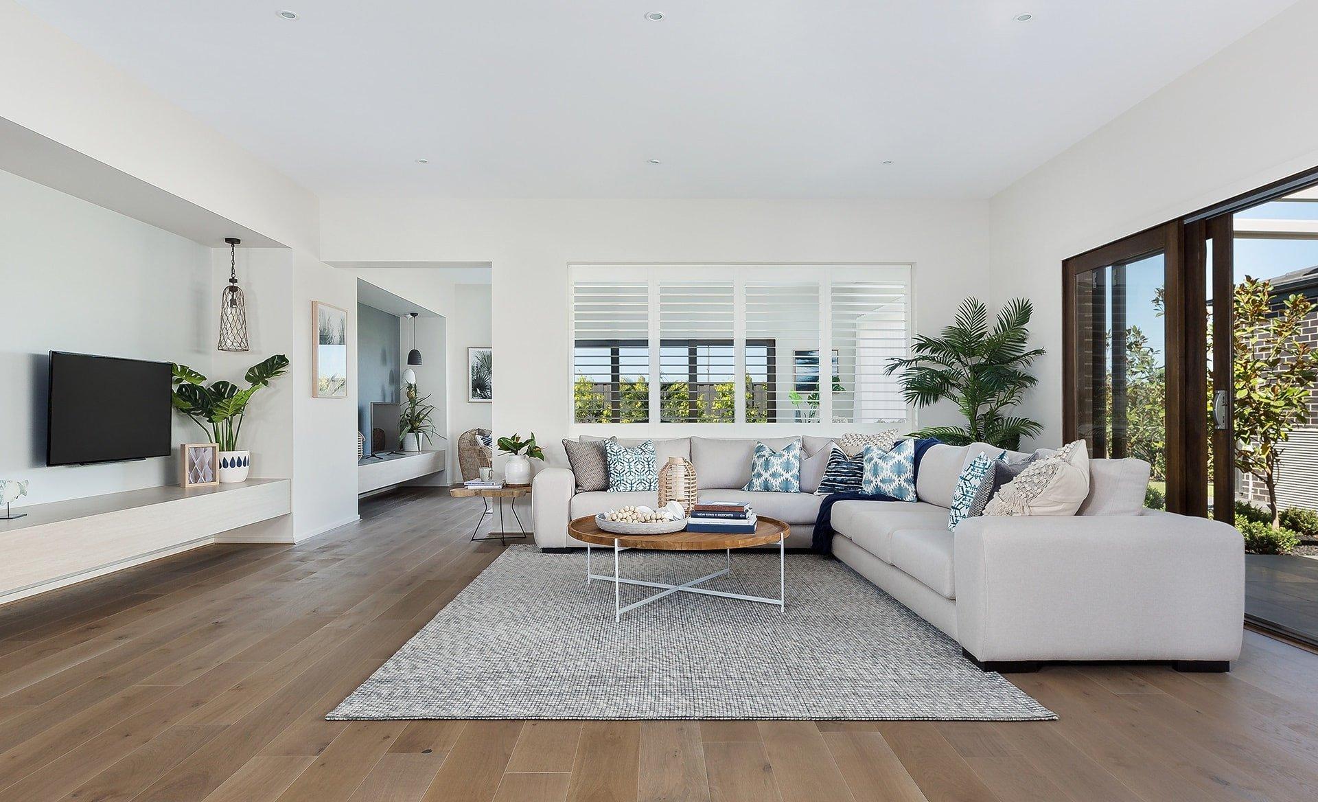 Coastal Contemporary Living Room Unique now This is How You Do Modern Coastal Interior Design