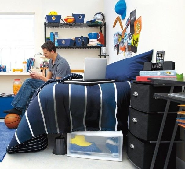 College Dorm Decor for Guys Awesome Dorm Essentials for A New School Year