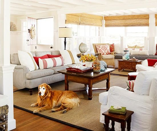 Comfortable Bungalow Living Room Fresh Cottage Style Rooms Pinterest