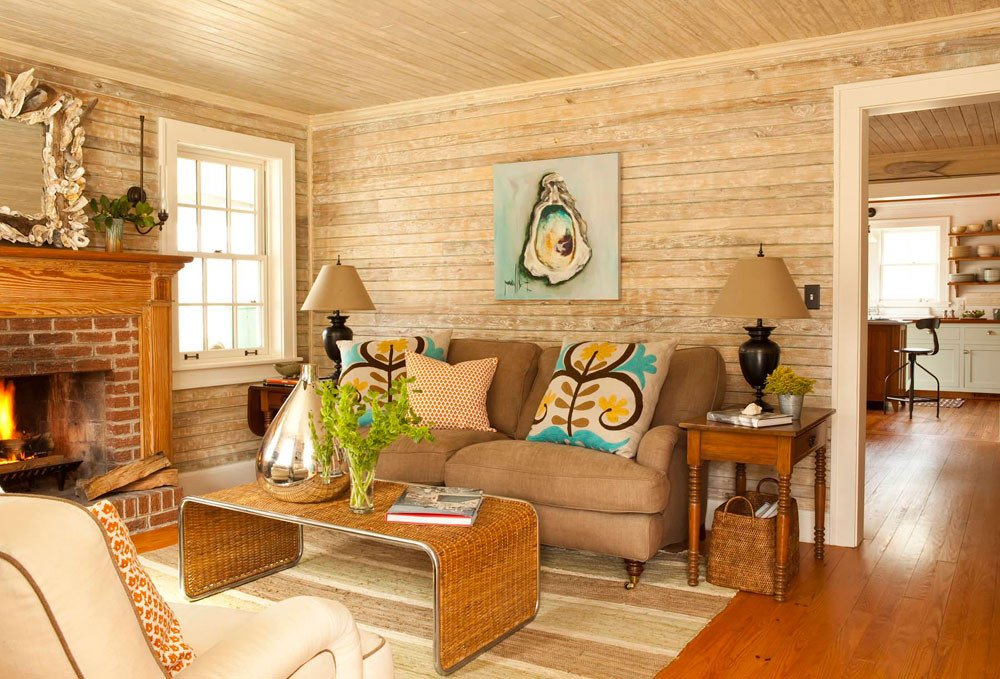 Comfortable Bungalow Living Room New Cottage Living Room Will Create Peaceful and Calm Feel