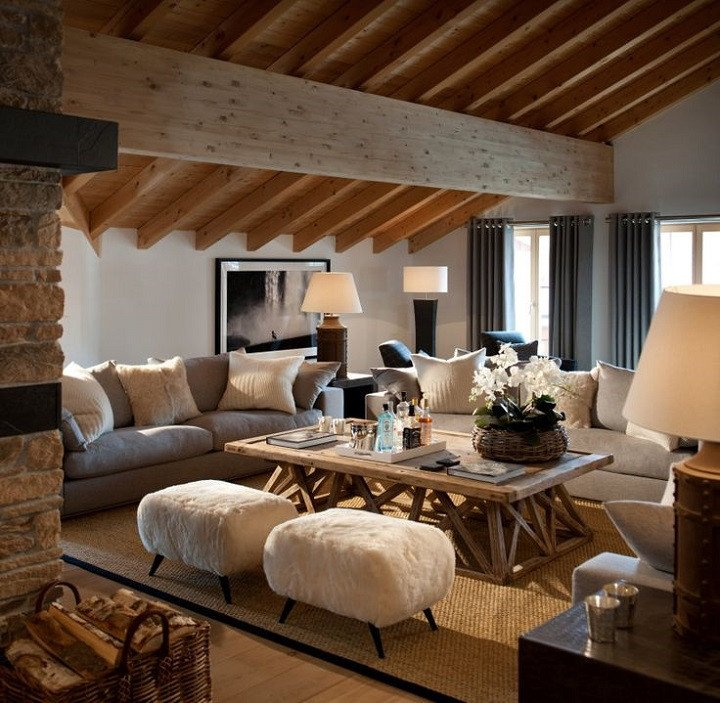 Comfortable Chic Living Room Inspirational 10 Chalet Chic Living Room Ideas for Ultimate Luxury and fortable Appeal Decoholic