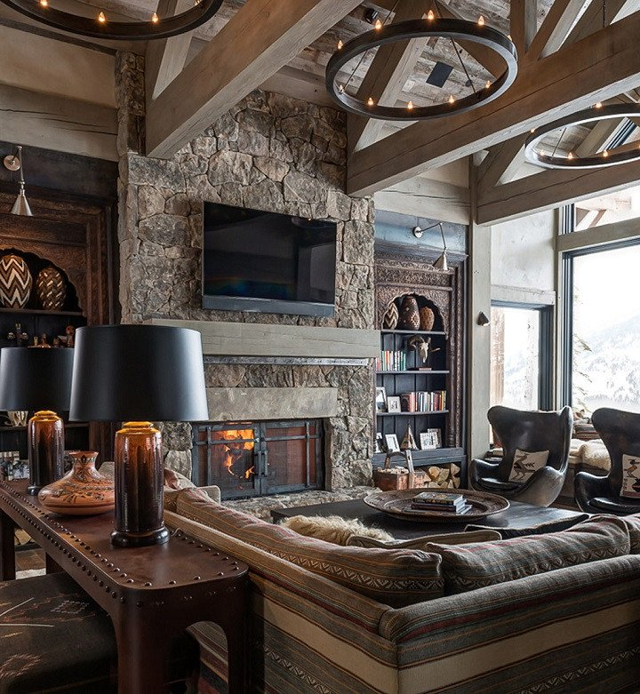 Comfortable Chic Living Room New 10 Chalet Chic Living Room Ideas for Ultimate Luxury and fortable Appeal Decoholic