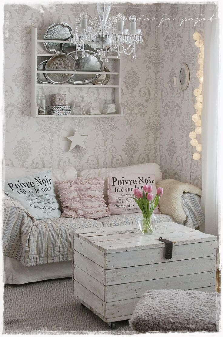 Comfortable Chic Living Room New 32 Best Shabby Chic Living Room Decor Ideas and Designs for 2019