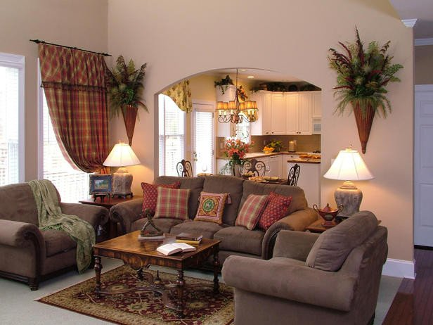 Comfortable Classic Living Room Awesome Traditional Living Space S