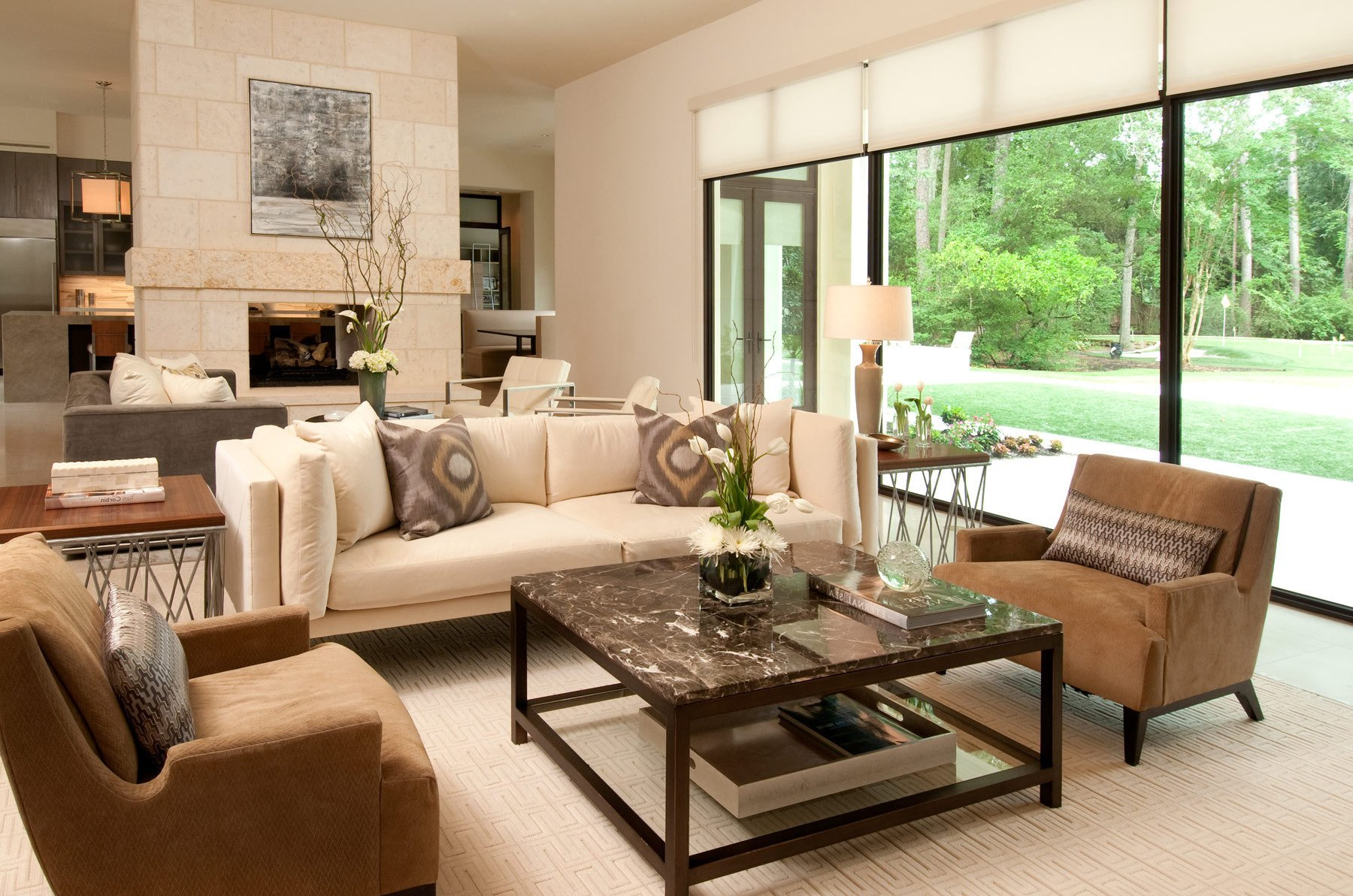 Comfortable Classic Living Room Lovely Cozy and fortable American Living Room Interior 8001