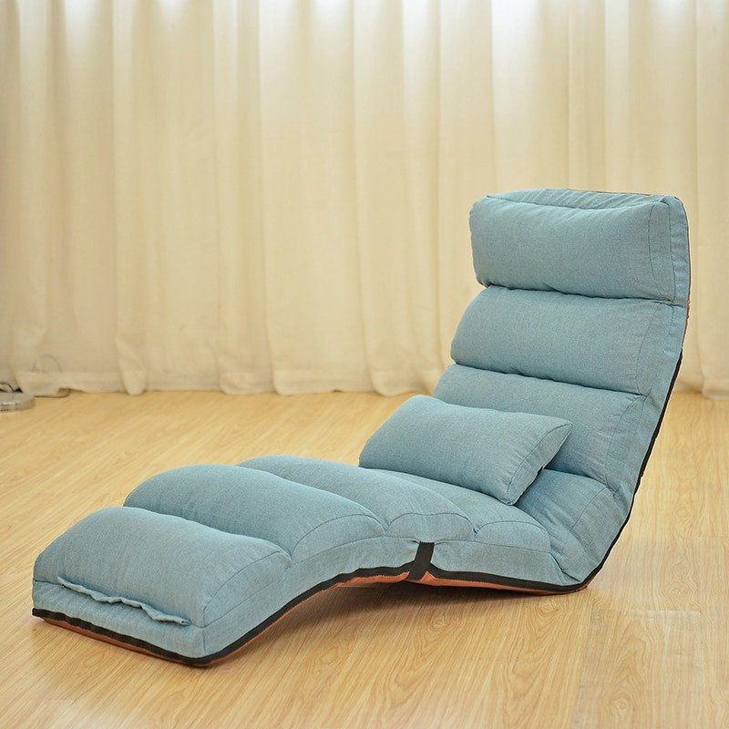 Comfortable Daybeds Living Room Inspirational Floor Folding Chaise Lounge Chair Modern Fashion 6 Color Living Room fort Daybed Lazy