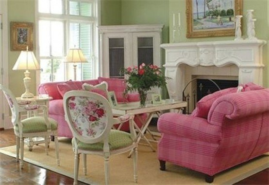 Comfortable Feminine Living Room Elegant Modern Furniture 2013 Stylish and Feminine Living Rooms Decorating Ideas