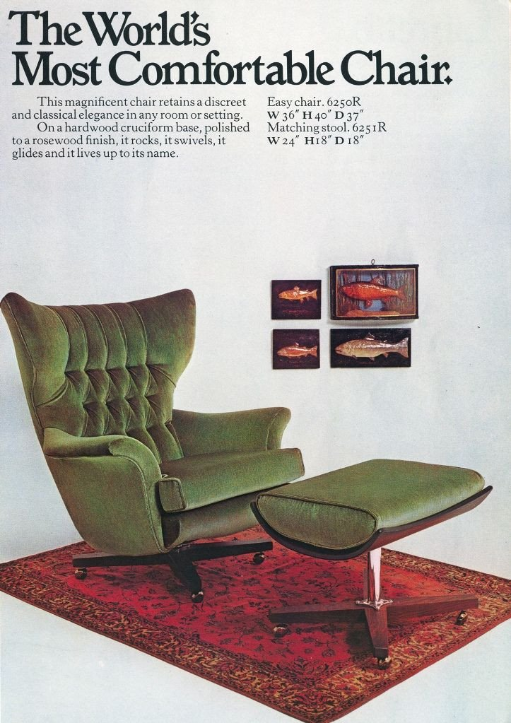 Comfortable formal Living Room Fresh 'the Most fortable Chair In the World' Gplan Chairs Pinterest