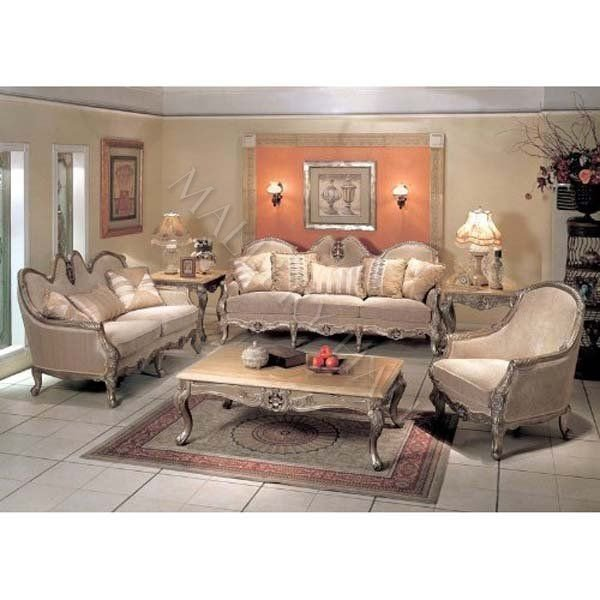 Comfortable formal Living Room New 2 Pc French Provincial fortable formal Seating Group $3 980 00 Renaissance Seating