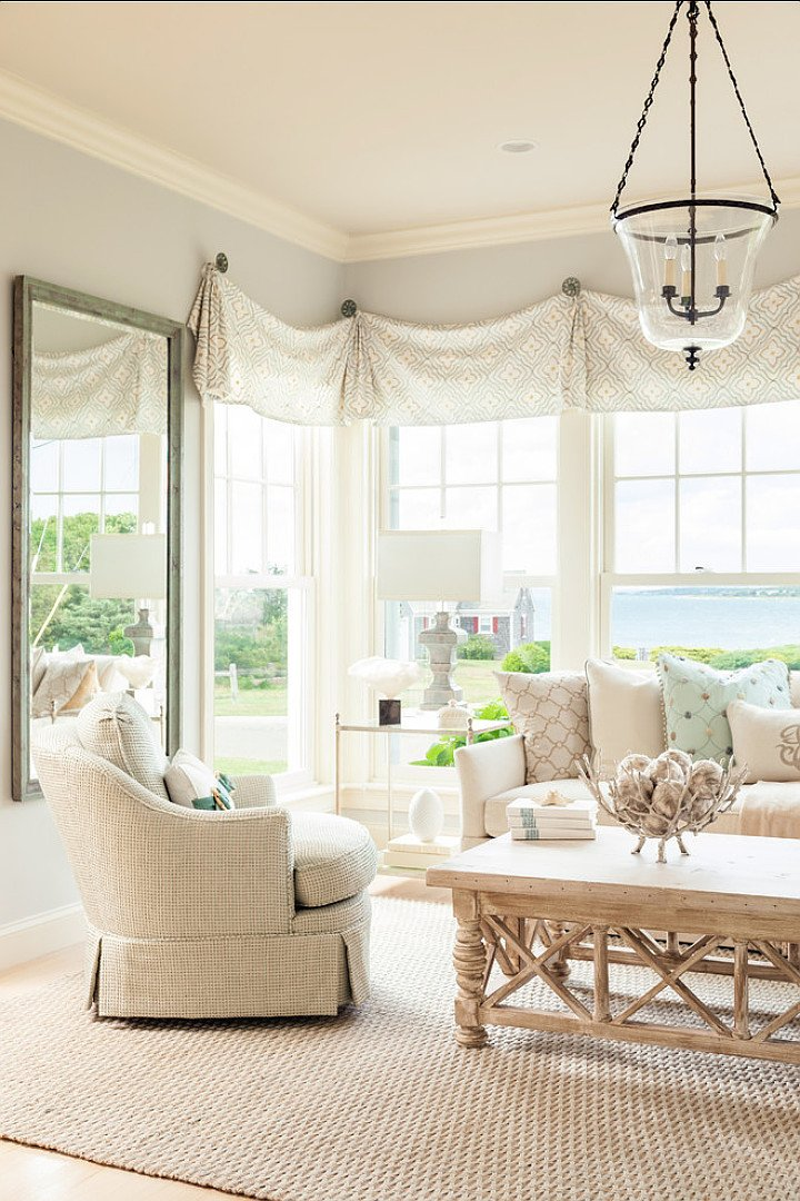 Comfortable formal Living Room Unique Coastal Home with Neutral Interiors Home Bunch Interior Design Ideas