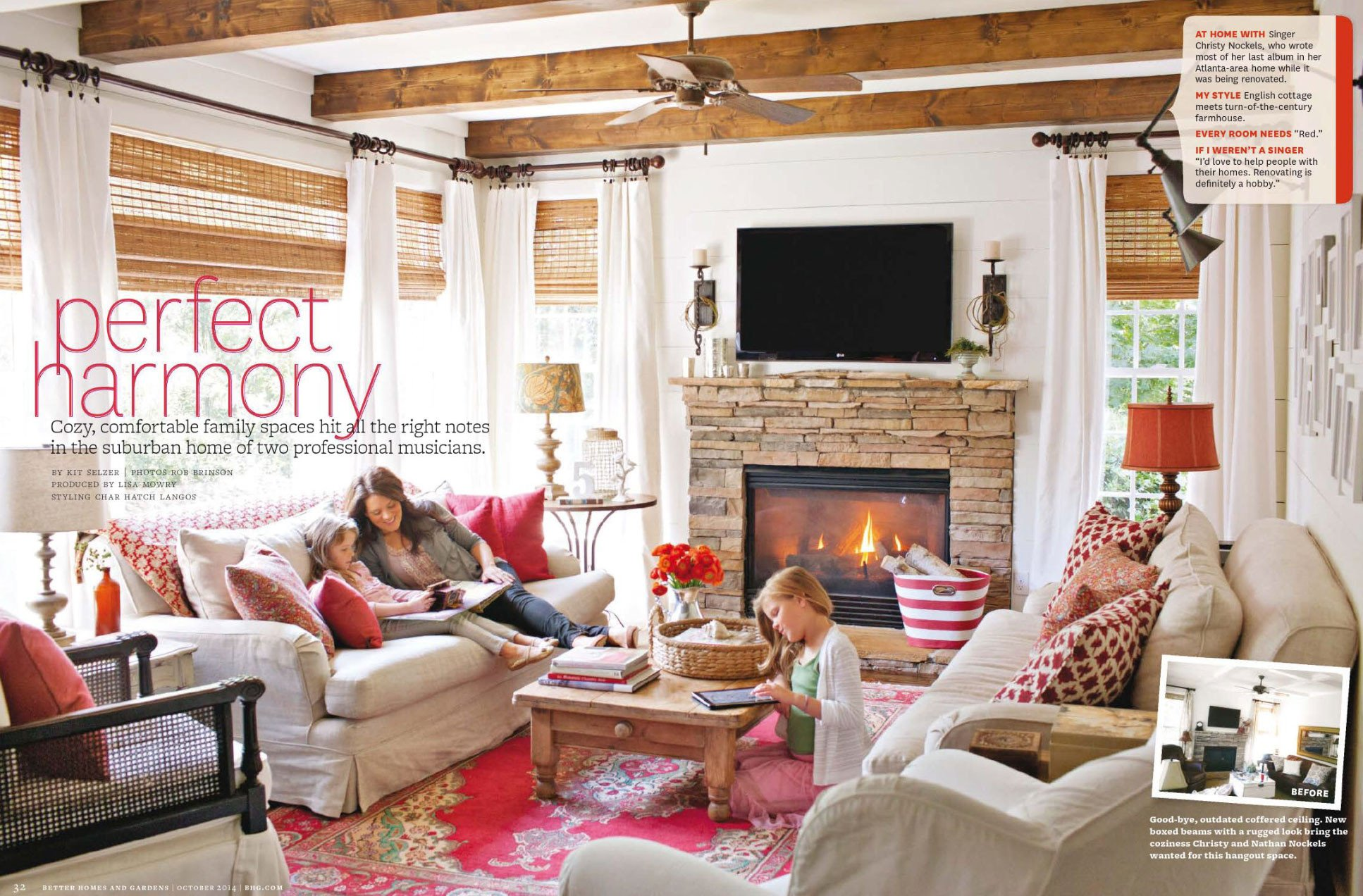 Comfortable Living Family Room Luxury Cozy Family Home Interiors by Color