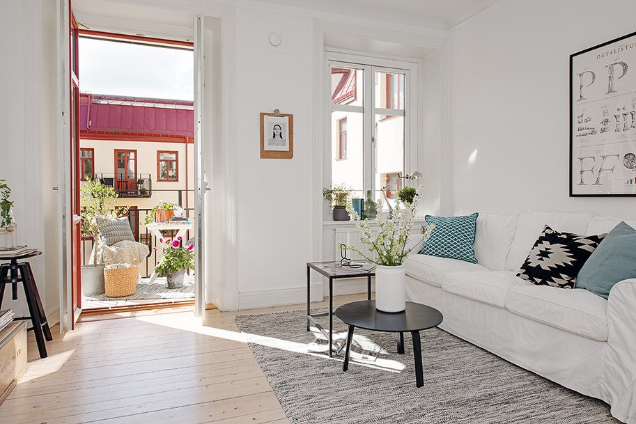 Comfortable Living Room Apartment Beautiful Casually fortable Decor Driven Apartment In Sweden
