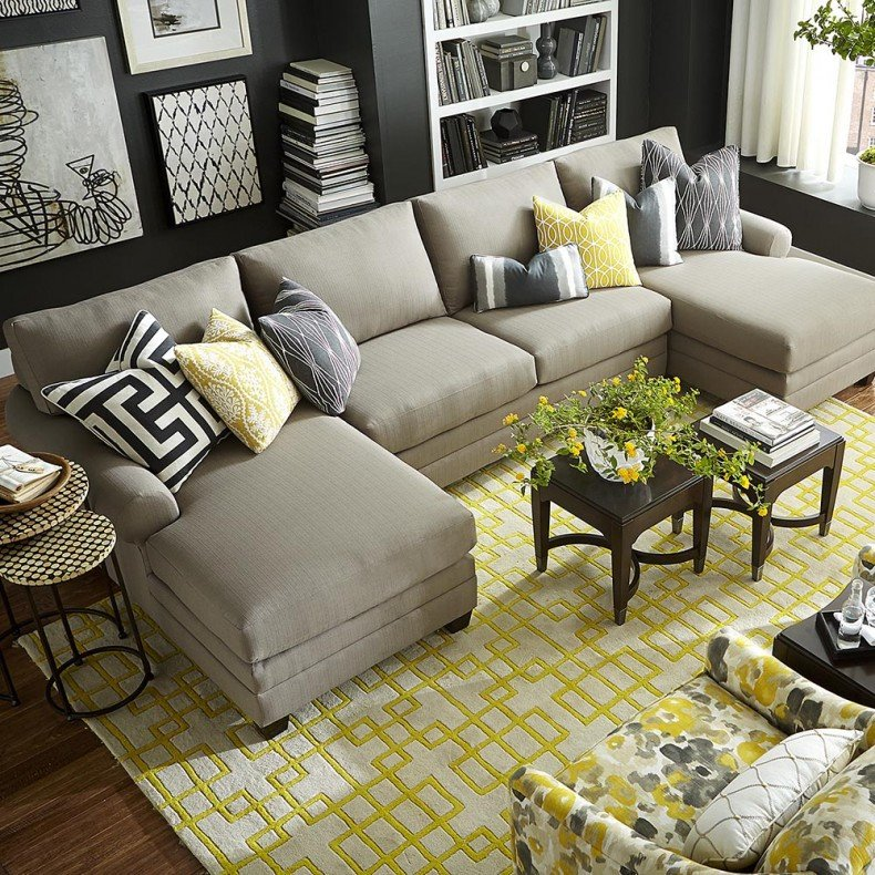 Comfortable Living Room Chaise Lounge Best Of Living Room fortable Double Chaise Sectional for Excellent Living Room sofa Ideas
