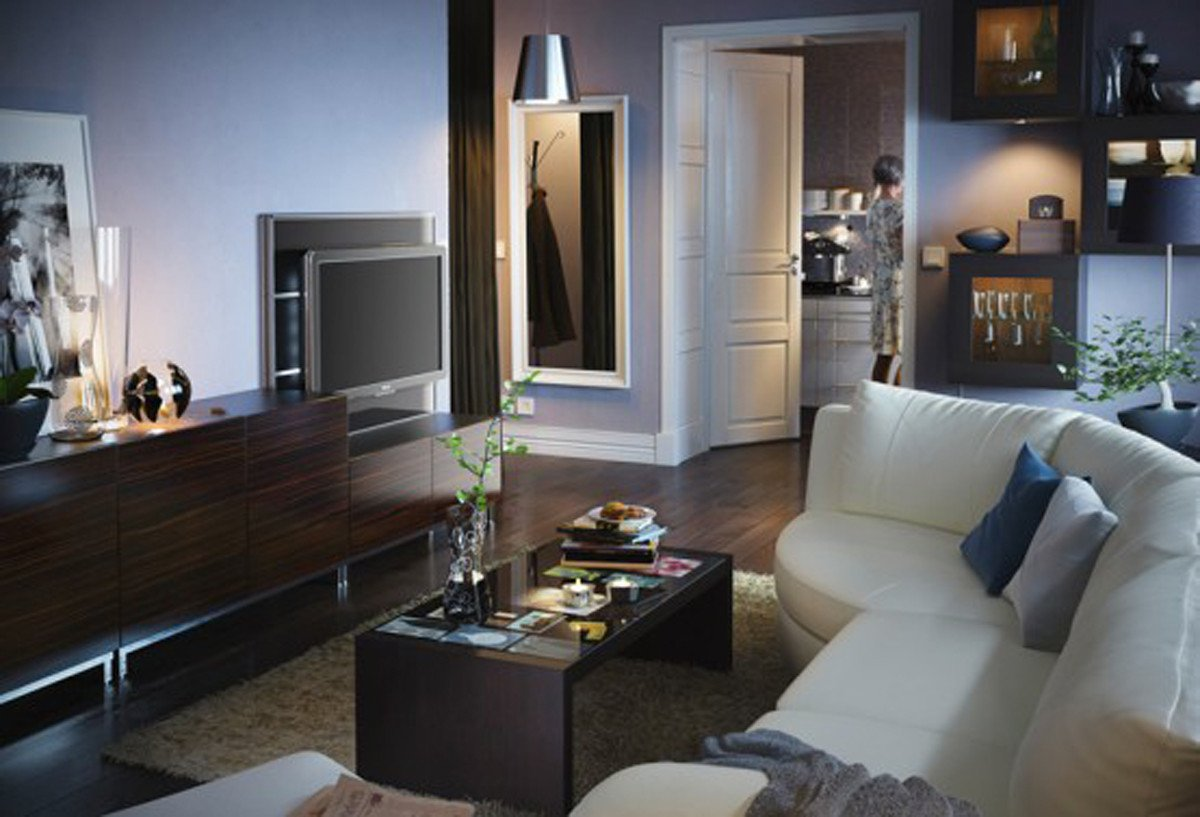 Comfortable Living Room Decorating Ideas Awesome fortable Ikea Living Room Decor 2011 Iroonie