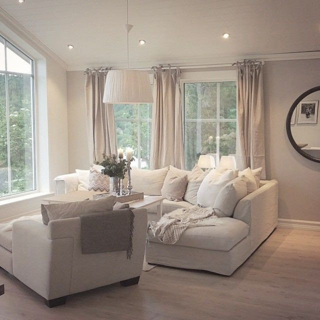 Light bright fortable living room More Home Decor
