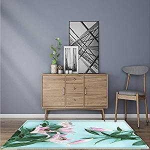 Comfortable Living Room Dining Room Awesome Amazon Extra Thick fortable Rug Lilies In the Blue Background for Living Room Dining