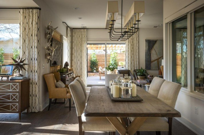 Comfortable Living Room Dining Room Beautiful Hgtv Smart Home 2015