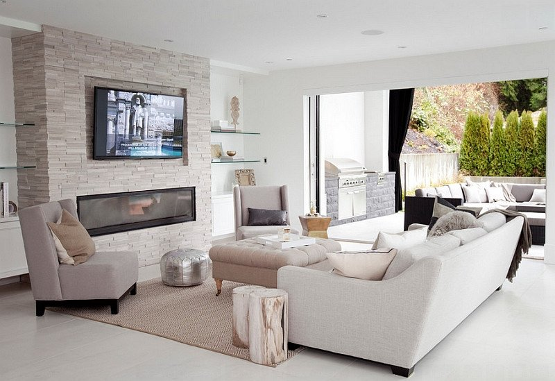 Comfortable Living Room Fireplace Best Of Tv Fireplace Design Ideas