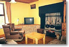 Comfortable Living Room Fireplace Luxury Mcelhinney S Cottage